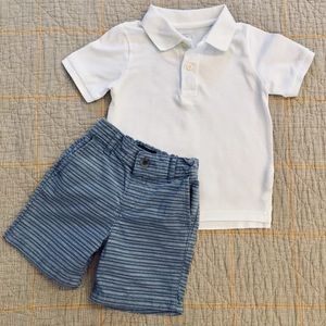 Children's Place 2 Piece Short Set 2T